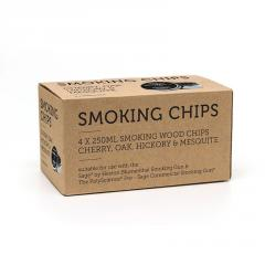 Smoking chips 4 x 250 ML