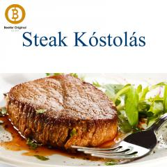 Otto Wilde Steak Kóstolás